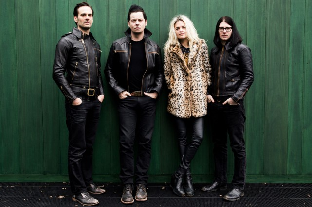 The Dead Weather réunit Alison Mosshart (The Kills), Dean Fertita (Queens of... (PHOTO DAVID JAMES SWANSON, FOURNIE PAR THIRD MAN RECORDS)