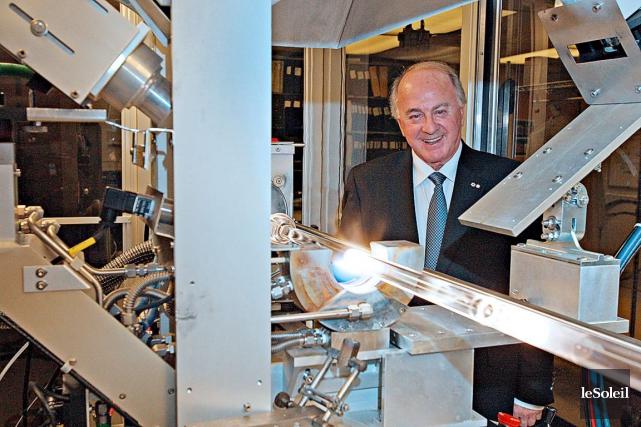 Le président du conseil d'administration de l'INO, Jean-Guy... (Le soleil, Pascal Ratthé)