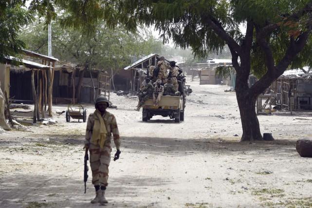 Les armées du Nigeria, du Tchad (photo), du... (Photo PHILIPPE DESMAZES, archives AFP)