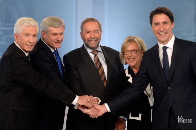 «Avant de déclarer un gagnant dans ce débat,... (Photo Bernard Brault, La Presse)