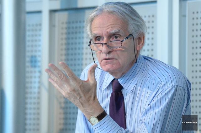 Le sociologue et historien Gérard Bouchard, qui a... (Photo Imacom, Maxime Picard)