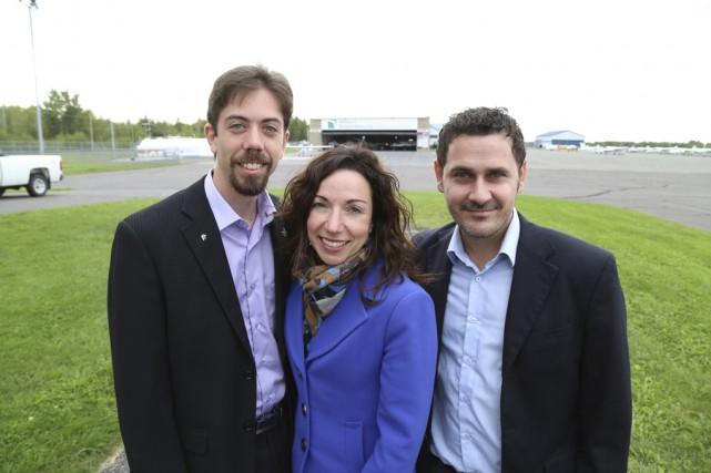 Les candidats bloquistes de Shefford et Brome-Missisquoi, Jocelyn... (Photo Janick Marois)