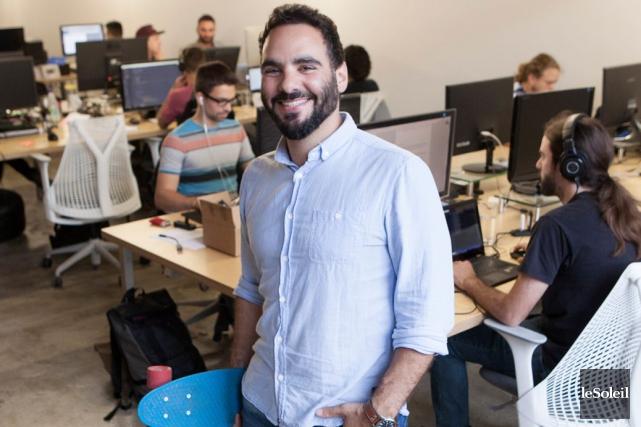 Georges Saad, l'un des cofondateurs de Spektrum Média,... (Photo Le Soleil, Caroline Grégoire)