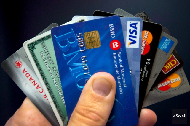 Les frais d'utilisation des cartes de crédit au... (Photothèque Le Soleil)