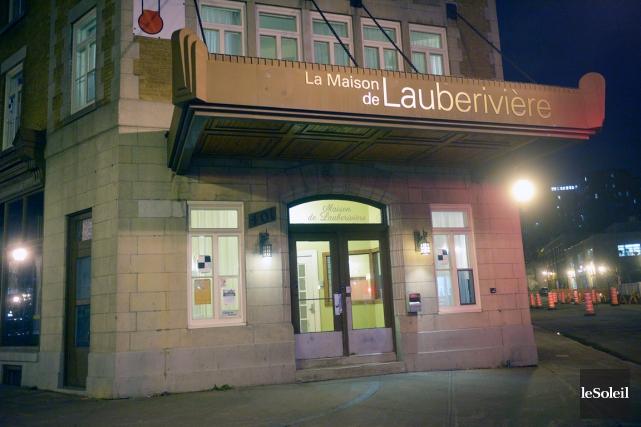 La Maison de Lauberivière... (Photothèque Le Soleil, Jean-Marie Villeneuve)