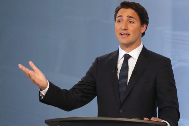 Depuis le début de la campagne, Justin Trudeau... (La Presse Canadienne, Christinne Muschi)