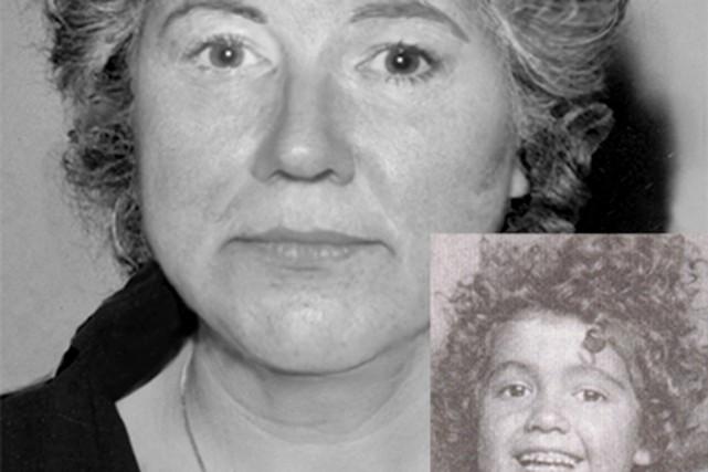 Diane Carrier a été portée disparue en 1963... (Photo fournie par la police de Québec)