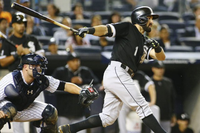 Adam Eaton lors du match contre les Yankees,... (Photo Andy Marlin, USA Today)