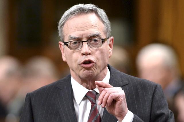 Le ministre conservateur des Finances, Joe Oliver... (La Presse Canadienne)