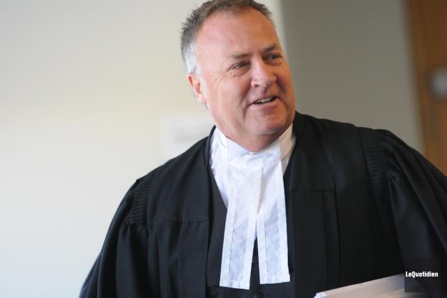 L'avocat de la défense, Me Jean-Marc Fradette, ne... (Archives Le Quotidien)