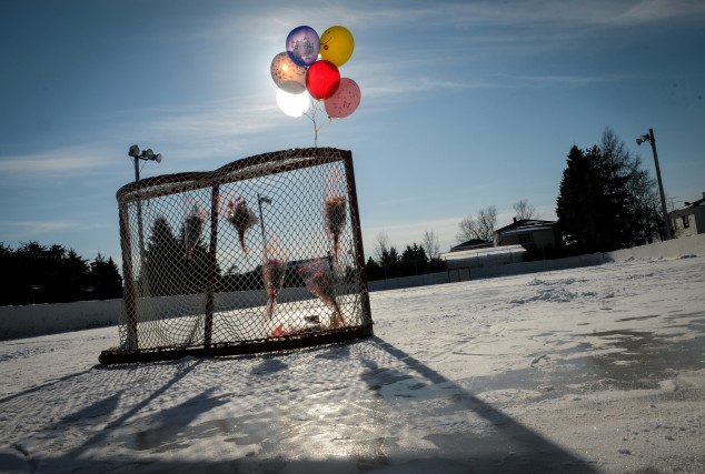 C'est ce but qui était tombé, en février... (PHOTO D'ARCHIVES, FRANÇOIS GERVAIS)