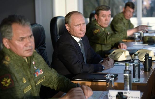 Lundi, le président russe Vladimir Poutine, qui veut... (PHOTO ALEXEI NIKOLSKY, ARCHIVES AP)