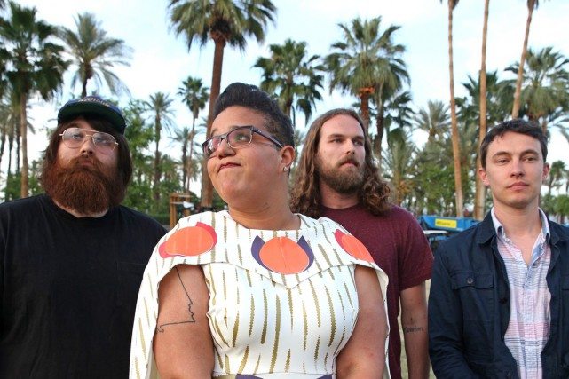 Les membres d'Alabama Shakes: Zac Cockrell, la chanteuse... (Photo Rich Fury, Associated Press)