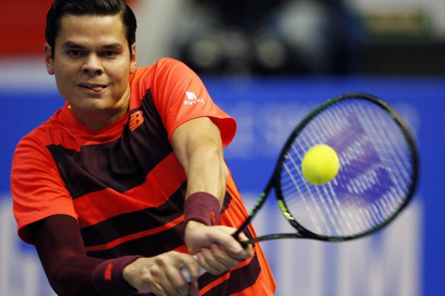 Milos Raonic... (Photo Dmitry Lovetsky, AP)