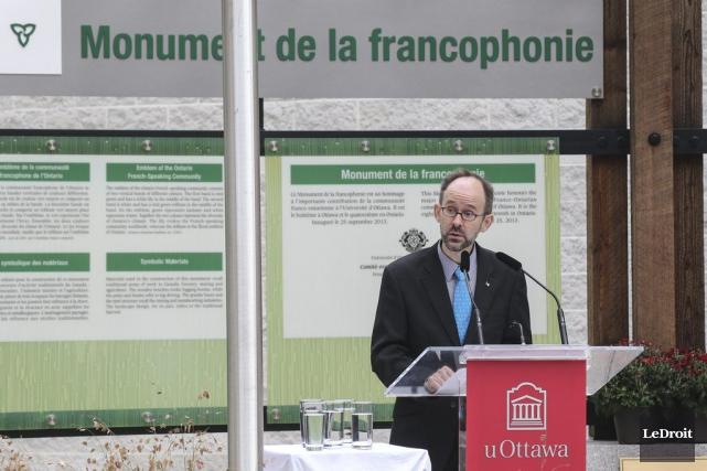 Le professeur Sébastien Grammonda coordonné les efforts de... (Patrick Woodbury, LeDroit)