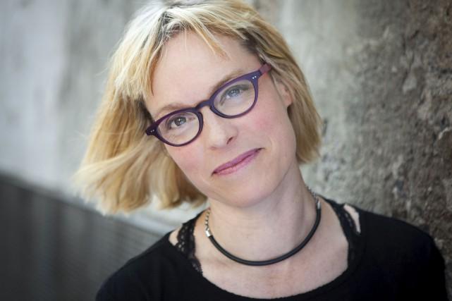 Pour Martine Delvaux, écrire relève plus de l'exercice... (Courtoisie)
