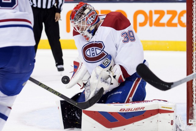 Mike Condon... (Photo Darren Calabrese, La Presse Canadienne)