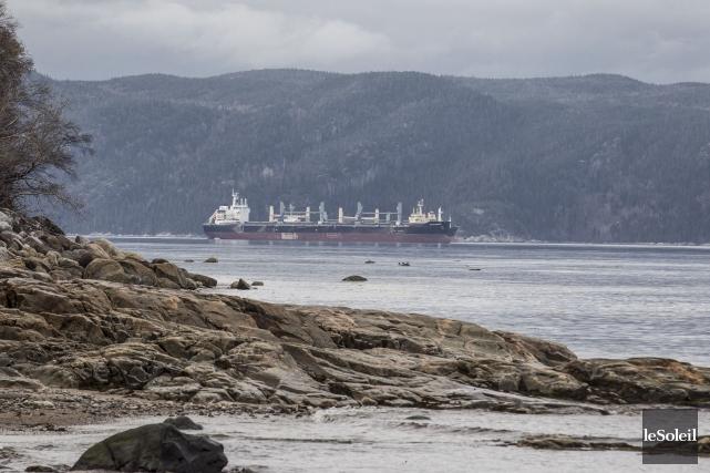 Selon la Garde côtière, la circulation maritime n'est... (Photothèque Le Soleil)