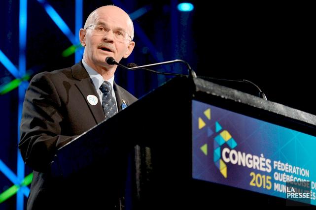 Richard Lehoux, président de la FQM,estime que la... (Erick Labbé)