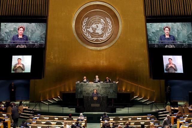 La présidente brésilienne Dilma Rousseff a annoncé de... (Photo Mike Segar, Reuters)