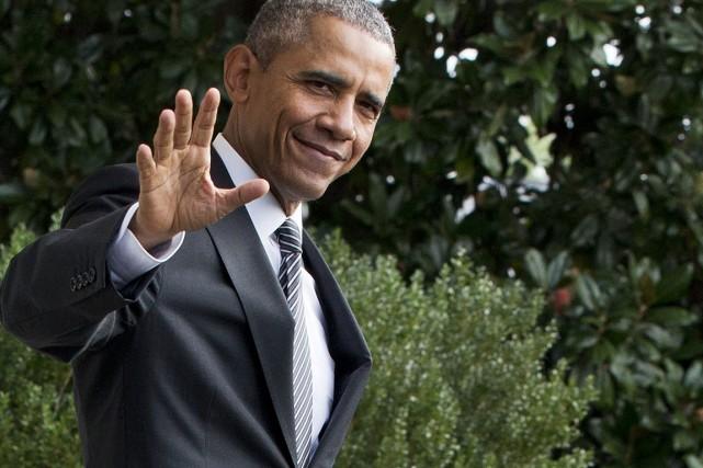 Le président américain Barack Obama... (Photo Jacquelyn Martin, AP)