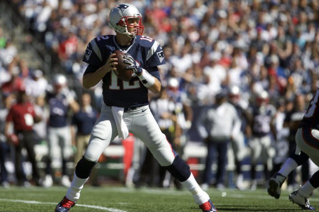 Tom Brady est le quatrième quart à atteindre ce... (PHOTO DAVID BUTLER II, USA TODAY)