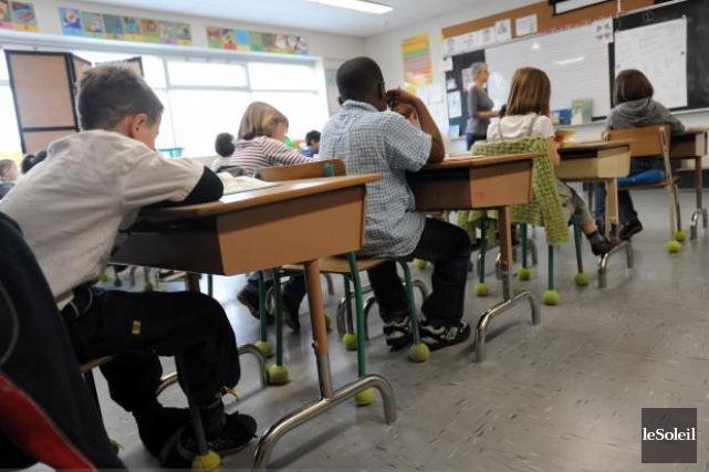L'élève ayant des besoins particuliers d'apprentissage ou des... (Photothèque Le Soleil)
