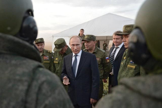 «La Russie ne participera à aucune opération terrestre... (ARCHIVES AP)
