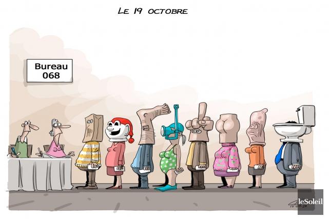 Caricature du 28 septembre 2015... (Le Soleil, André-Philippe Côté)