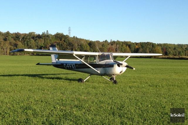 L'appareil de type Cessna n'a pas subi de... (Photothèque Le Soleil)