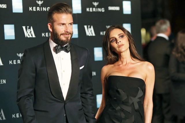 David et Victoria Beckham... (Associated Press)