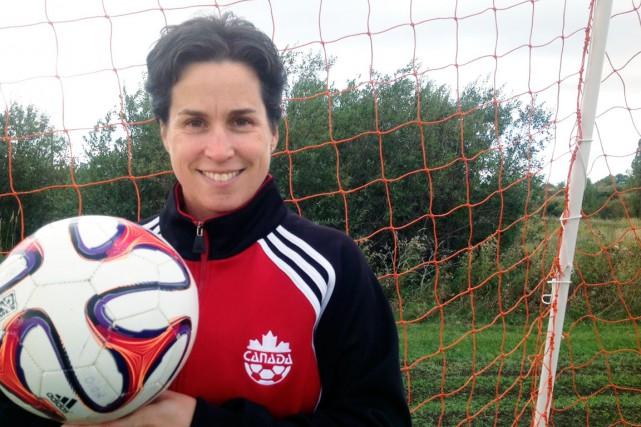 Marie-Claude Dion, ancienne joueuse de l'équipe nationale de... (Courtoisie)