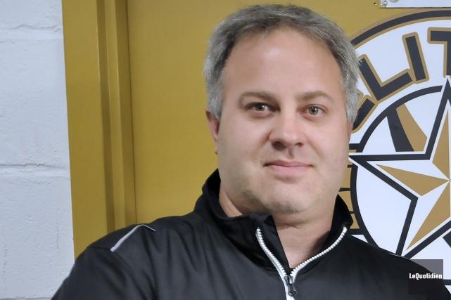 L'entraîneur Steeve Thériault.... ((Archives Le Quotidien))
