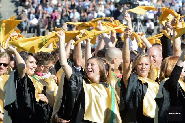 Le stade de l'Université de Sherbrooke (UdeS) s'est une nouvelle fois fait... (Imacom, Maxime Picard)