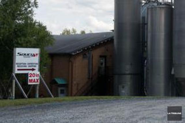 Le projet d'expansion de l'usine Soucy Techno à Sherbrooke, sur la glace depuis... (Archives La Tribune)