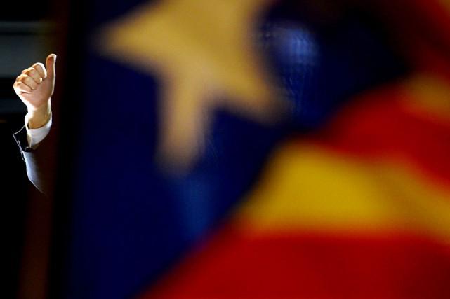 Pour le journal catalan de gaucheEl Periódico, c'est... (PHOTO LLUIS GENE, AFP)