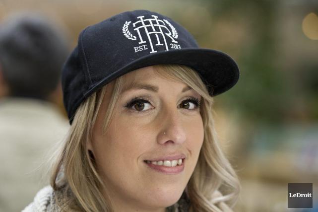 Danika Gagnon, cofondatrice de The Hunger Republic, a... (Martin Roy, LeDroit)