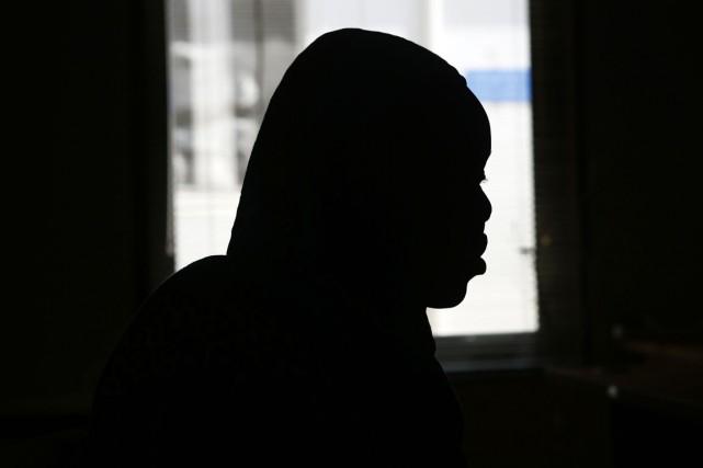 Evalina, une Sud-Soudanaise victime de violences sexuelles de... (PHOTO ASHRAF SHAZLY, ACRHIVES AFP)