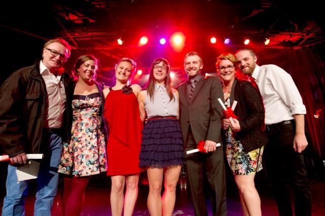 Les lauréats des 8e Prix Rideau ont été dévoilés hier soir à la Maison du... (Martin Roy, LeDroit)