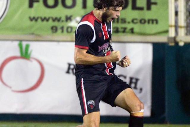 Tom Heinemann a marqué deux buts samedi contre... (Courtoisie NASL)