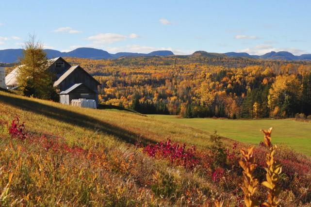 Les paysages accidentés de Charlevoix sont encore plus... (Photo fournie par Alain Blanchette)