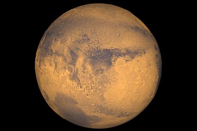 La planète Mars.... (PHOTO ARCHIVES NASA)