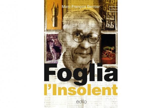 D'abord, on est frappé par cette couverture, horrible, où Foglia apparaît comme...