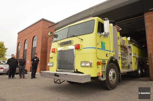 Depuis lundi matin, les fonctions de pompiers et... (Photo: François Gervais, Le Nouvelliste)