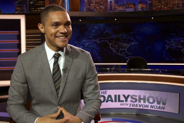 Trevor Noah... (PHOTO ARCHIVES ASSOCIATED PRESS)