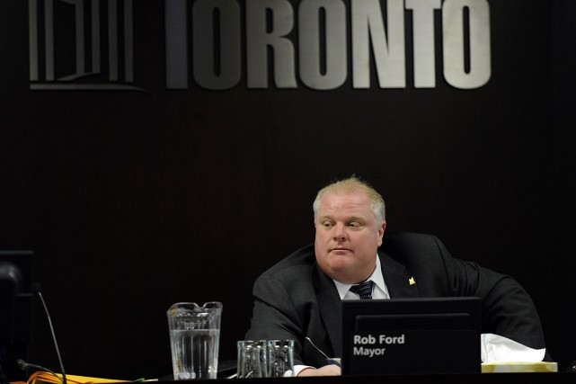 Rob Ford, photographié en janvier 2012.... (Photo Fred Lum, archives The Globe and Mail)