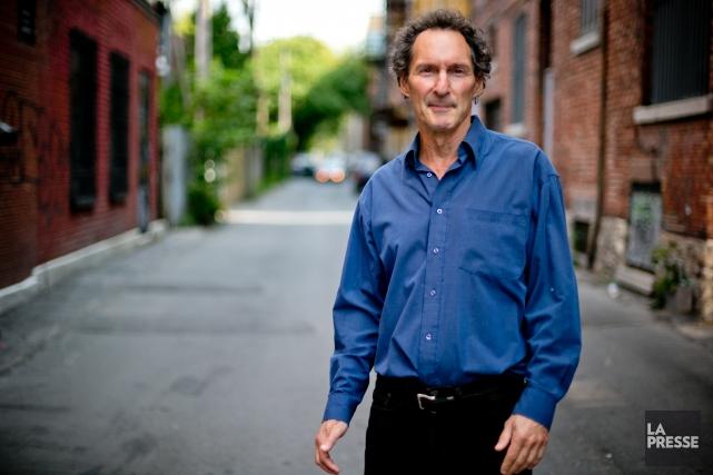 L'écrivain montréalais David Homel s'est inspiré des bas-fonds... (PHOTO DAVID BOILY, LA PRESSE)