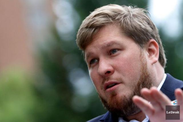 Le candidat conservateur dans Hull-Aylmer et ex-recherchiste au... (Simon Séguin-Bertrand, Archives LeDroit)