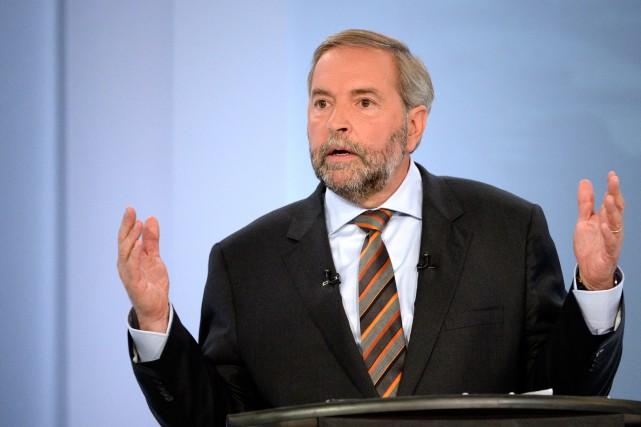 Le NPD a un nouveau chef québécois (Thomas... (PHOTO BERNARD BRAULT, LA PRESSE)