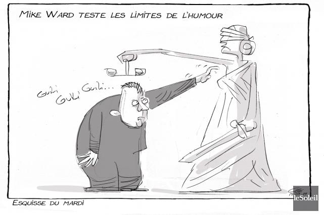 Caricature du 29 septembre... (Le Soleil, André-Philippe Côté)